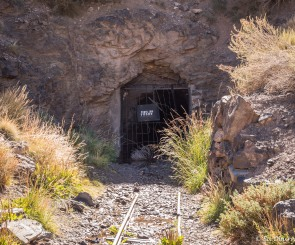 Entrance to the old Jesuit mine.
