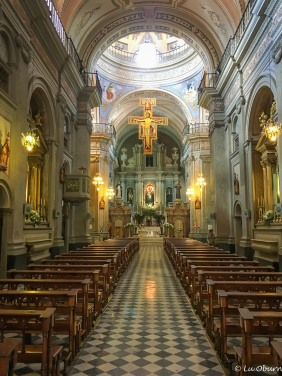 Interior of San Francisco church