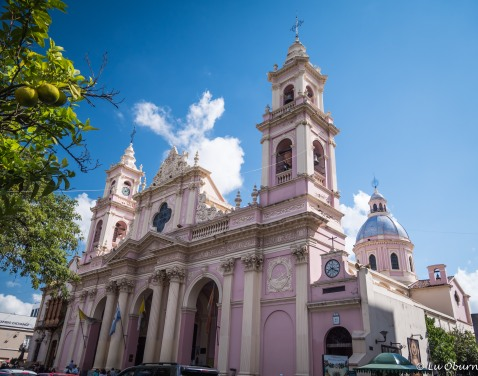 Salta Basilica on the main square