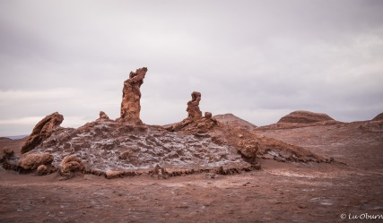 I'm not sure any of us saw the Three Marys in this rock formation.