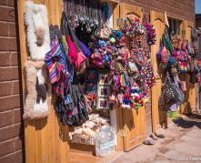 Colorful gifts to draw tourists in.