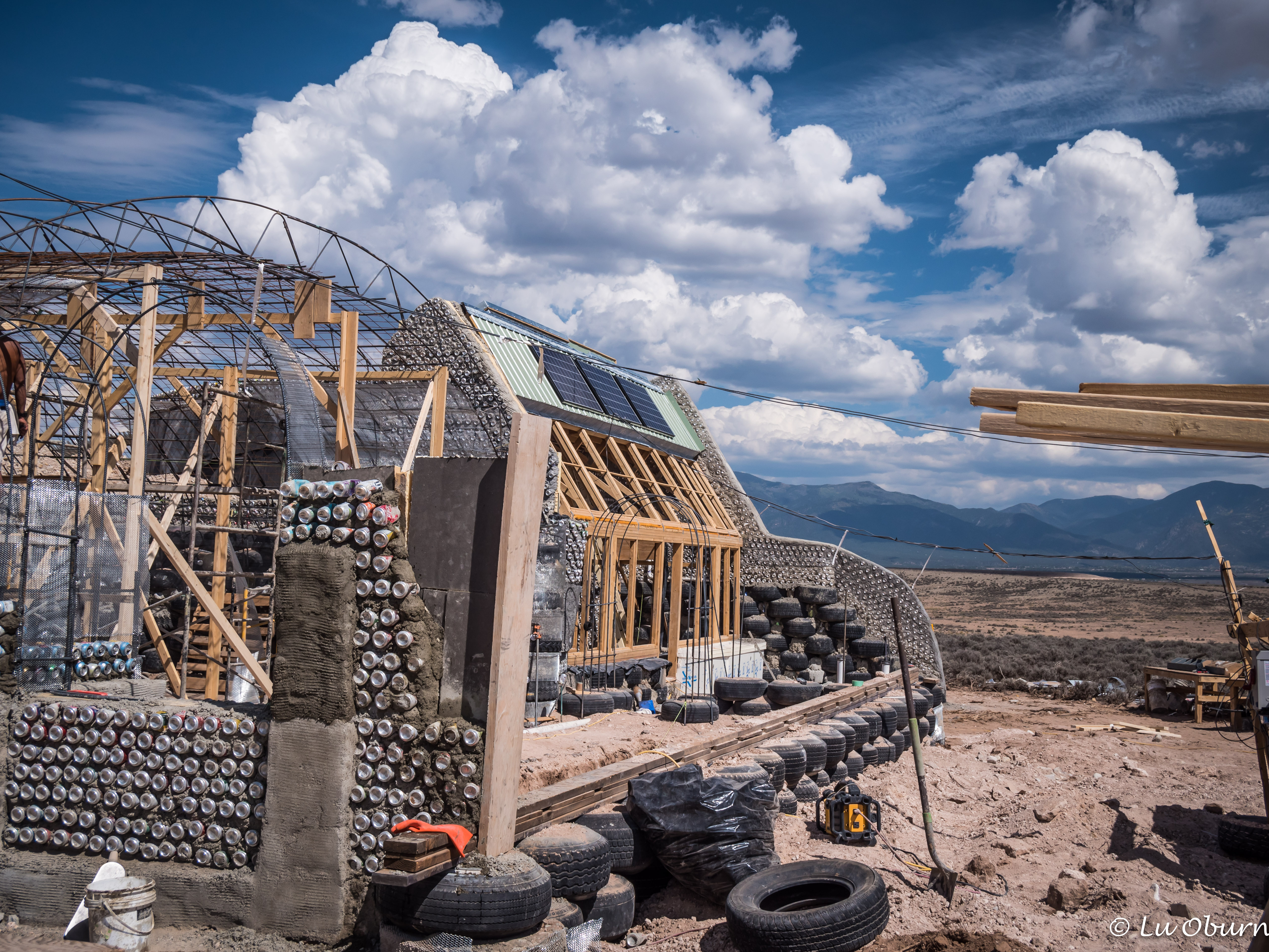 Hitch A Ride On An Earthship Paint Your Landscape