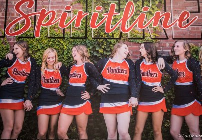 Niece Paige, third from left, is also part of the dance team.
